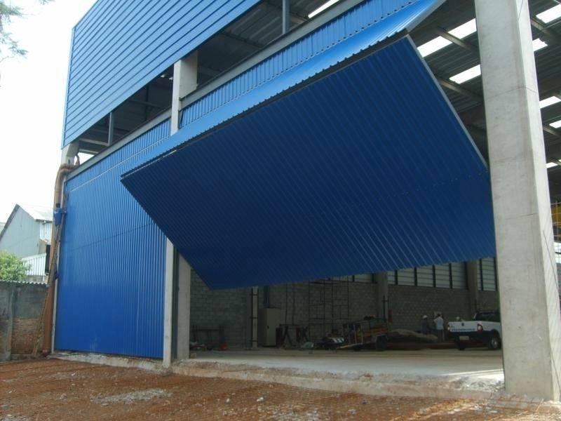Automação de Portões Industriais Pari - Automação de Portão Basculante