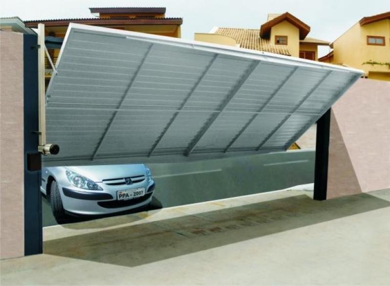 Orçamento de Portão Automático Basculante Luz - Portão Automático Basculante