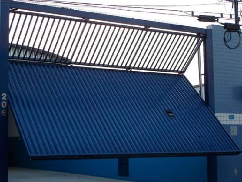 Orçamento de Portão Automático Dobrável Região Central - Portão Automático Basculante
