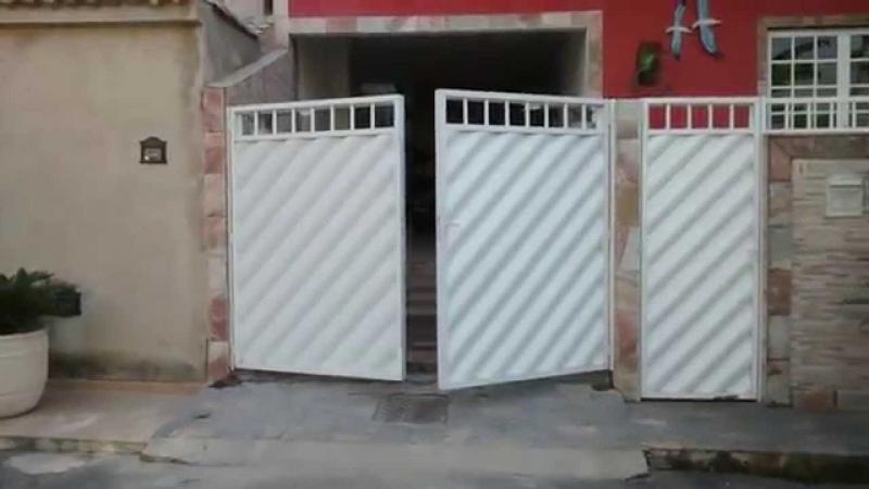 Orçamento de Portão Automático Duas Folhas Consolação - Portão Automático Basculante