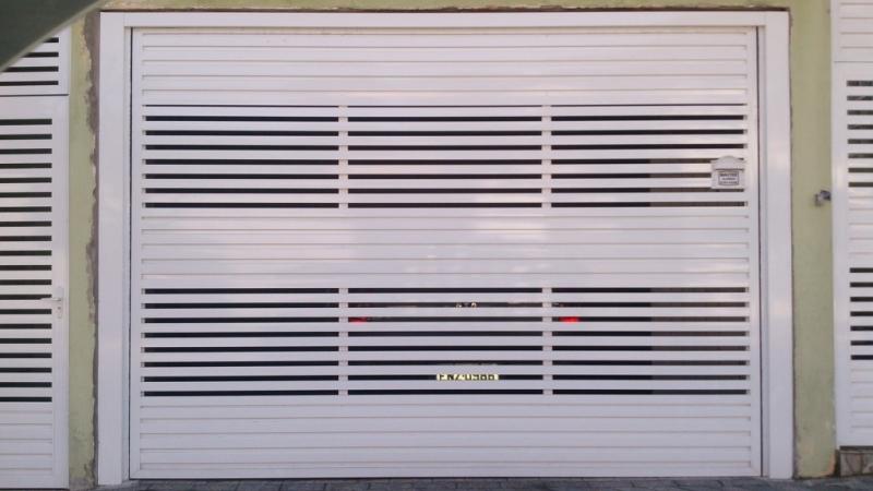 Portão Automático Basculante Alumínio Valor Cantareira - Portão Automático para Garagem