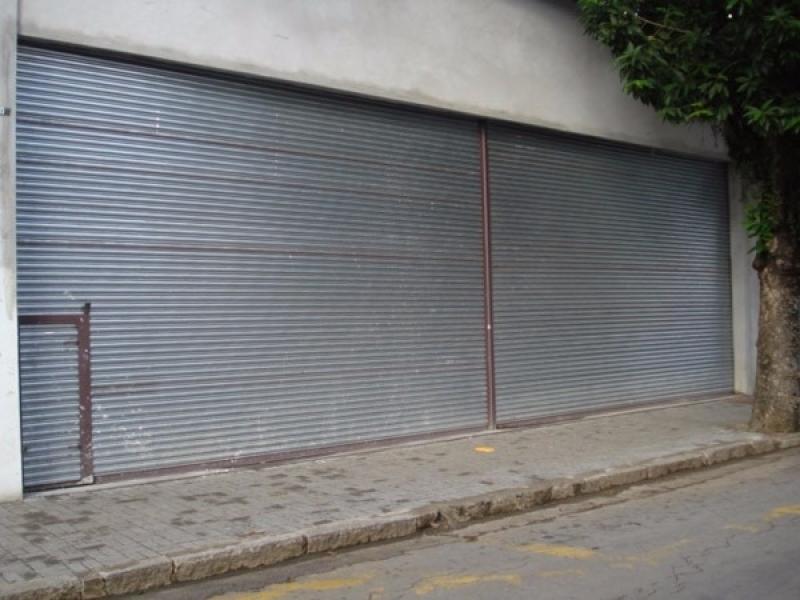 Portão Automático de Enrolar Parque São Lucas - Portão Automático para Garagem