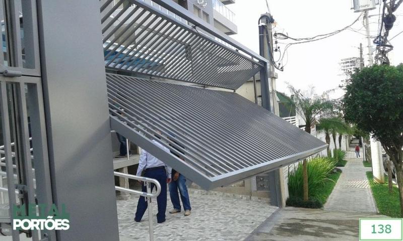 Portões Automáticos Articulados Parque São Domingos - Portão Automático Articulado