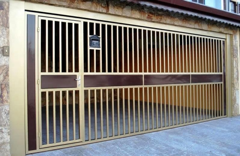 Portões Automáticos de Garagens Serra da Cantareira - Portão Automático Basculante