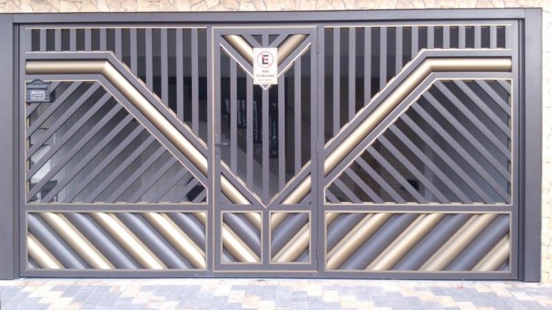 Portões Automáticos para Garagens Bom Retiro - Portão Automático para Garagem