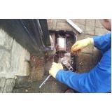manutenção de portão de alumínio