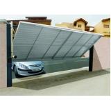 orçamento de portão automático basculante Pompéia
