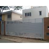 portão automático horizontal valor Santo André