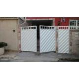 portões sociais em alumínio Grajau