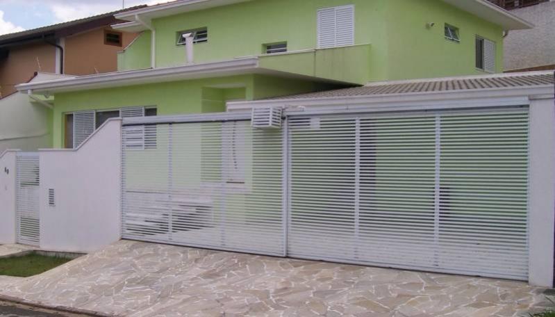 Valor de Automação de Portão Deslizante Mooca - Automação de Portão Condomínio