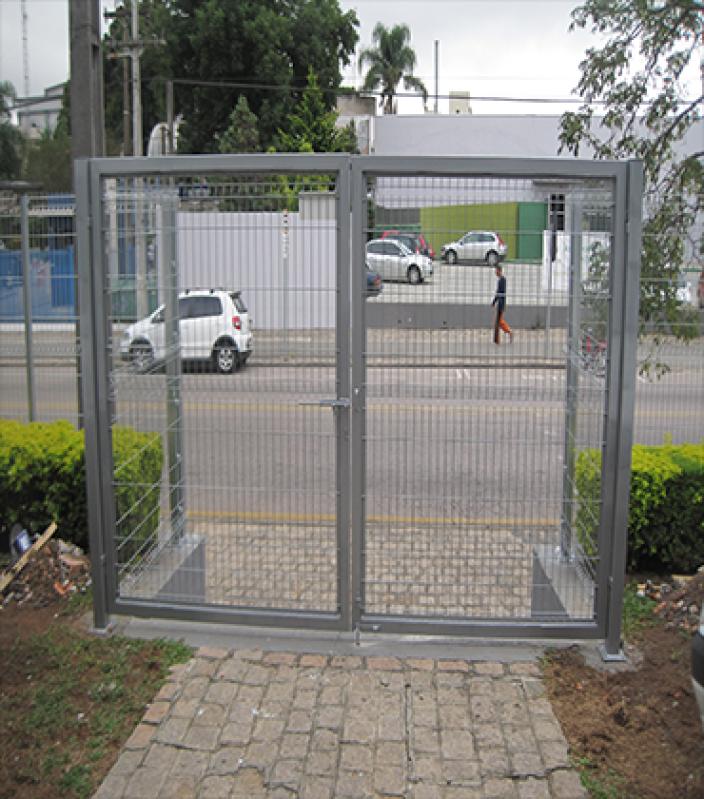 Automação de Portão Duas Folhas Preço Campo Limpo - Automação de Portão Duplo Deslizante