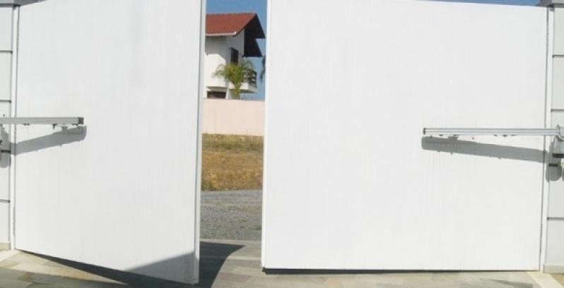 Automação de Portão Pivotante São Domingos - Automação de Portão Residencial