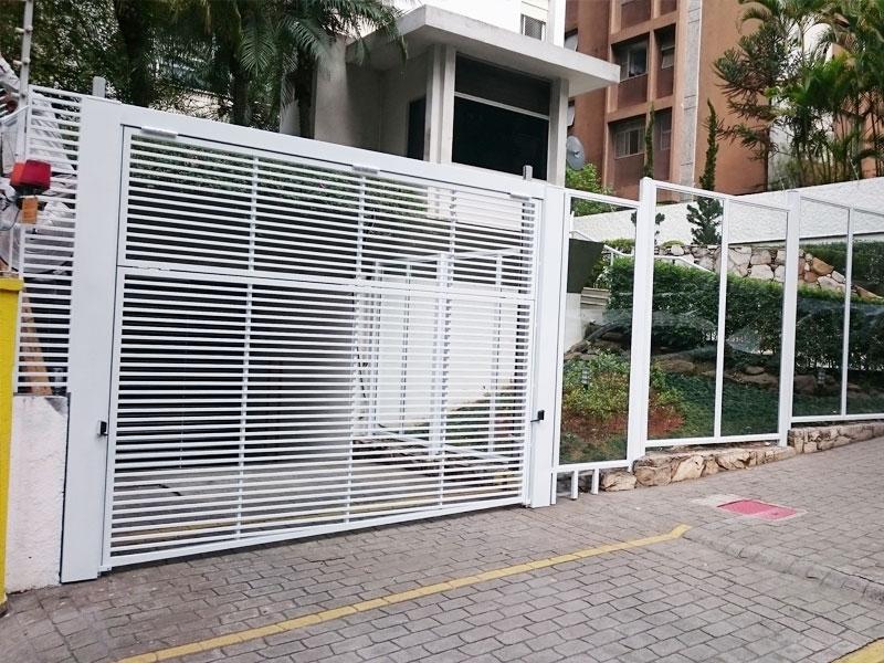 Automação de Portões Condomínio Vila Andrade - Automação de Portão Duas Folhas