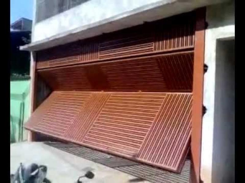 Compra de Portão Automático Articulado Santa Efigênia - Portão Automático Basculante