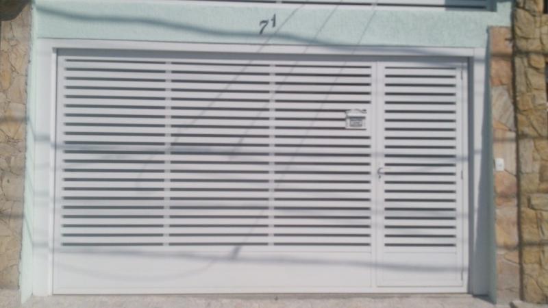 Compra de Portão Automático para Garagem Jd da Conquista - Portão Automático Basculante