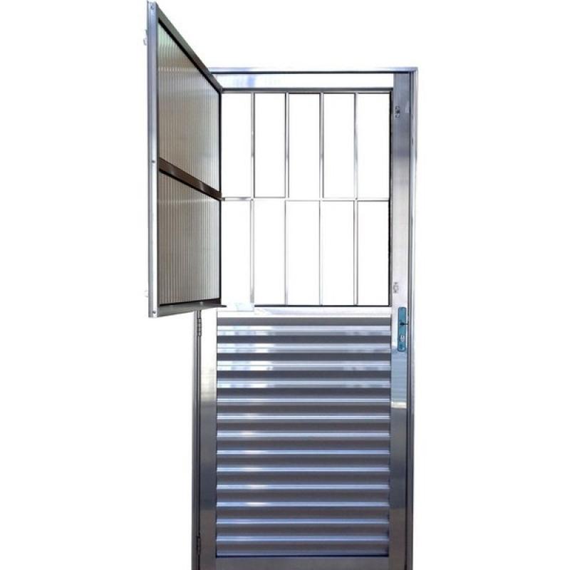 Empresa de Porta de Aço Reforçada Vila Maria - Porta de Aço Blindada