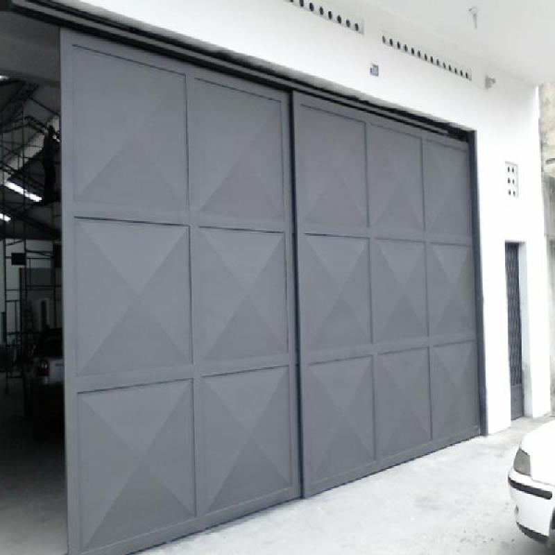 Portão Automático Duas Folhas Valor Aeroporto - Portão Automático para Garagem
