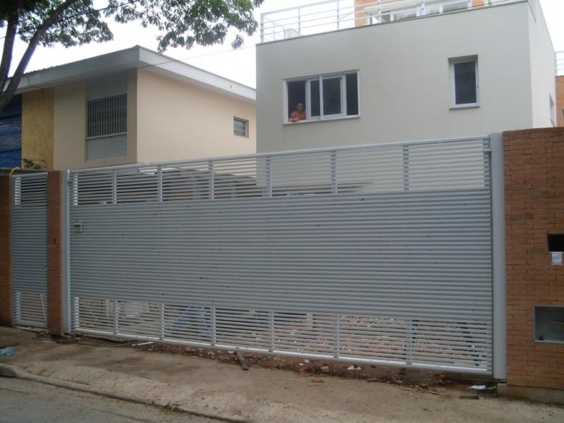 Portão Automático Horizontal Valor Jardim Ângela - Portão Automático Basculante