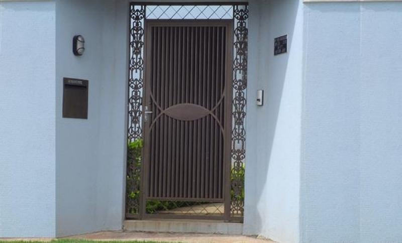 Portão Social Guilhotina