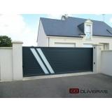 automação de portão duplo deslizante preço Casa Verde