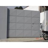 automação de portão industrial preço Sé