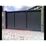 automação de portão industrial Água Branca
