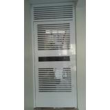 instalação de porta de aço automática Limão