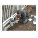 manutenção de portão automático Luz