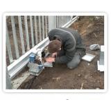 manutenção de portões de alumínio Vila Anastácio