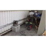 onde faço manutenção de portão de alumínio Pedreira