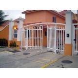 onde fazer automação de portão condomínio Santa Cecília