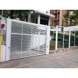porta de aço de enrolar Parque Santa Madalena