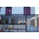 portão automático deslizante Vila Mazzei