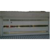 portão social garagem