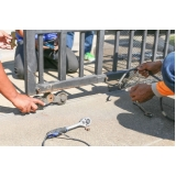 valor da manutenção de portão de alumínio Pedreira