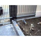 valor da manutenção de portão de correr Parque Santa Madalena