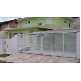 valor de automação de portão deslizante Vila Romana