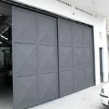valor de automação de portão industrial Luz